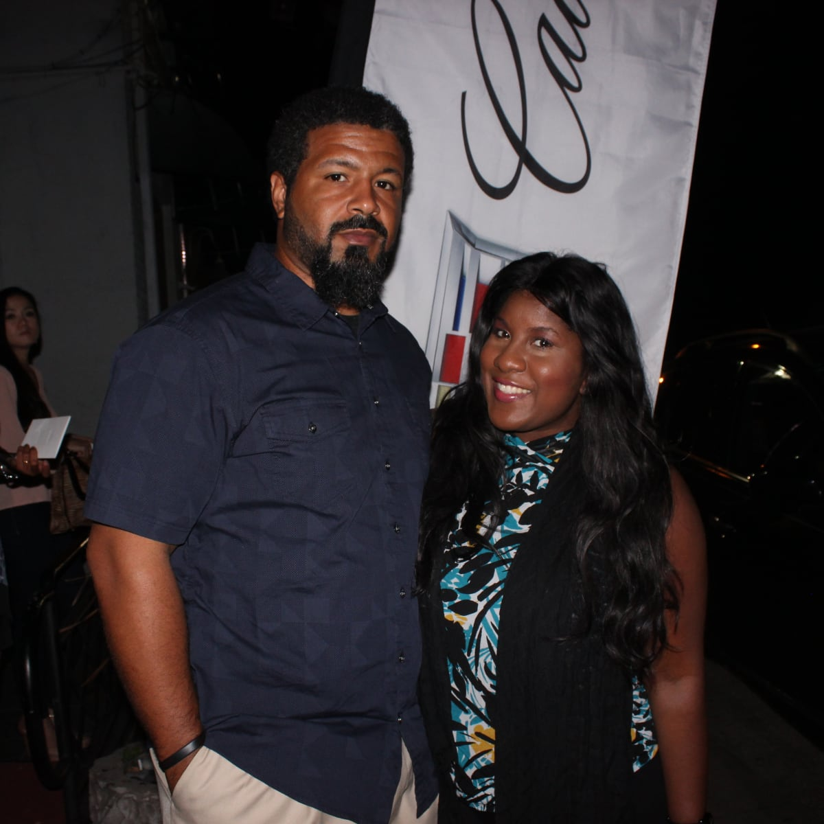 Houston, Cadillac Road to Table dinner, September 2015, Eric and Shanna Jones