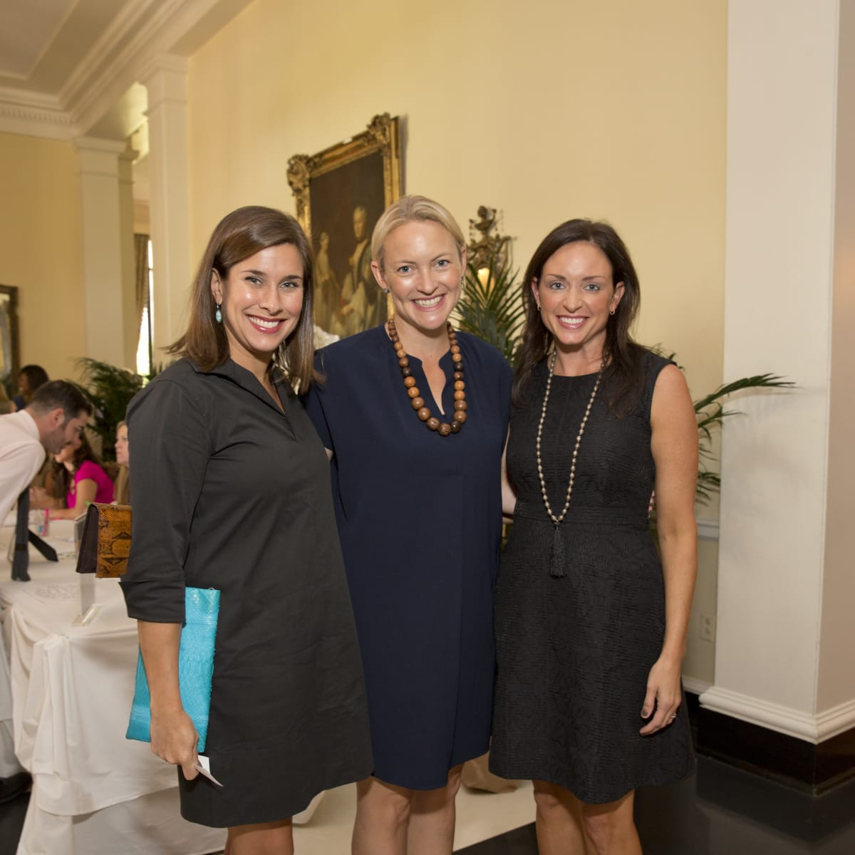 News, Shelby, Small Steps luncheon, Sept. 2015, Erin Brown, Marcia Smart, and Trish Kyle
