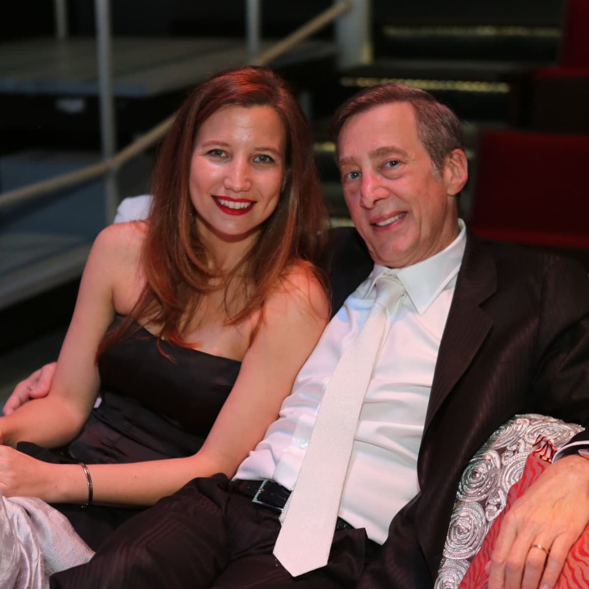 News, Shelby, Alley Theatre opening, September 2015, Victoria and Randall Jamail