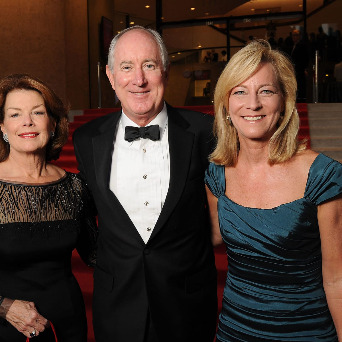 News, Shelby, Alley Theatre opening, September 2015, Kathryn Ketelsen, Rob and Susan Reedy
