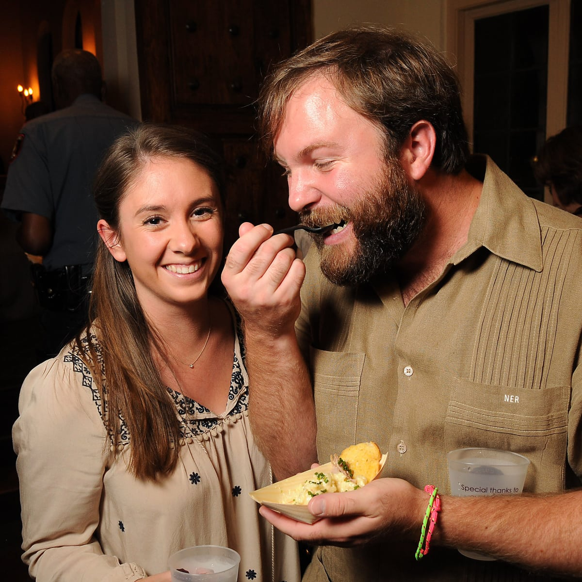 News, Shelby, Camp for All Camp Culinary, Sept. 2015, Ellen and Nathan Rigney