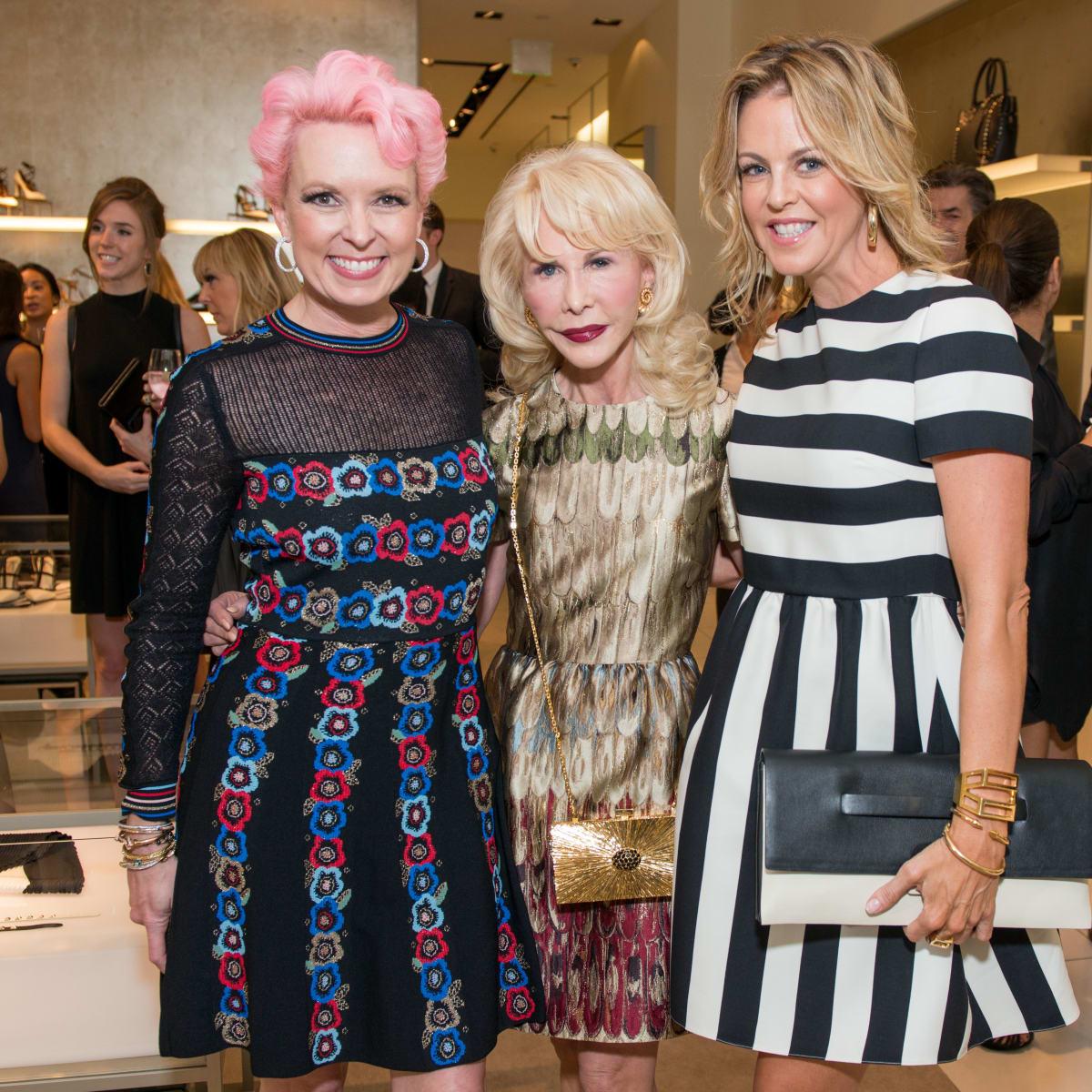 News, Shelby, Heart of Fashion, Valentino, Sept. 2015, Vivian Wise, Diane Lokey Farb, Elizabeth Petersen