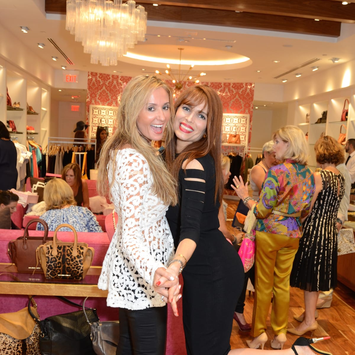 News, Shelby, Latin Women's Initiative party, Sept. 2015, Cindy Garza Farmer, Karina Barbieri