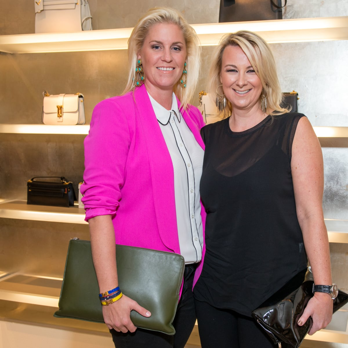 News, Shelby, Heart of Fashion Valentino party, Sept. 2015, Lauren Taft, Libby Cagle