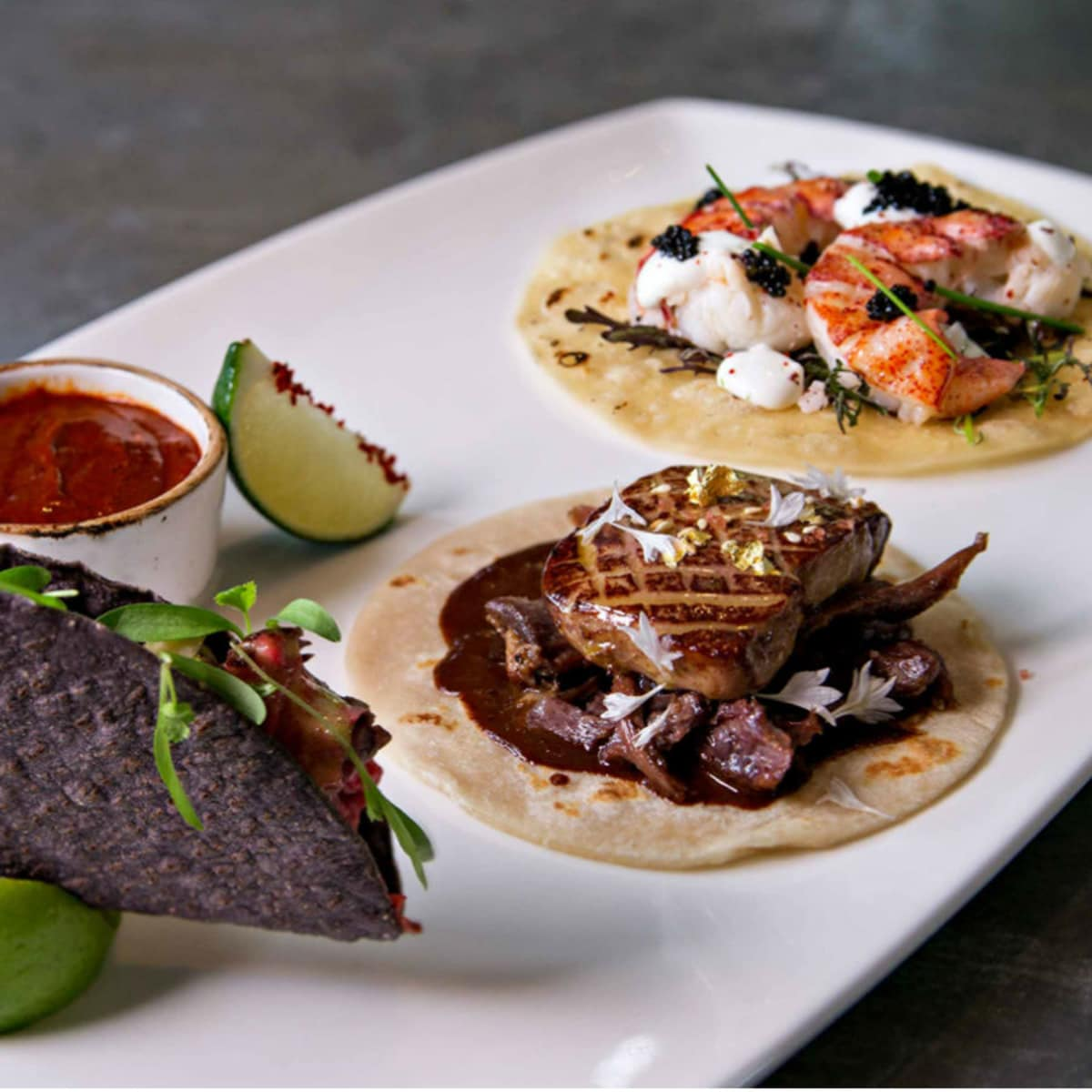 Cafe on the Green tacos