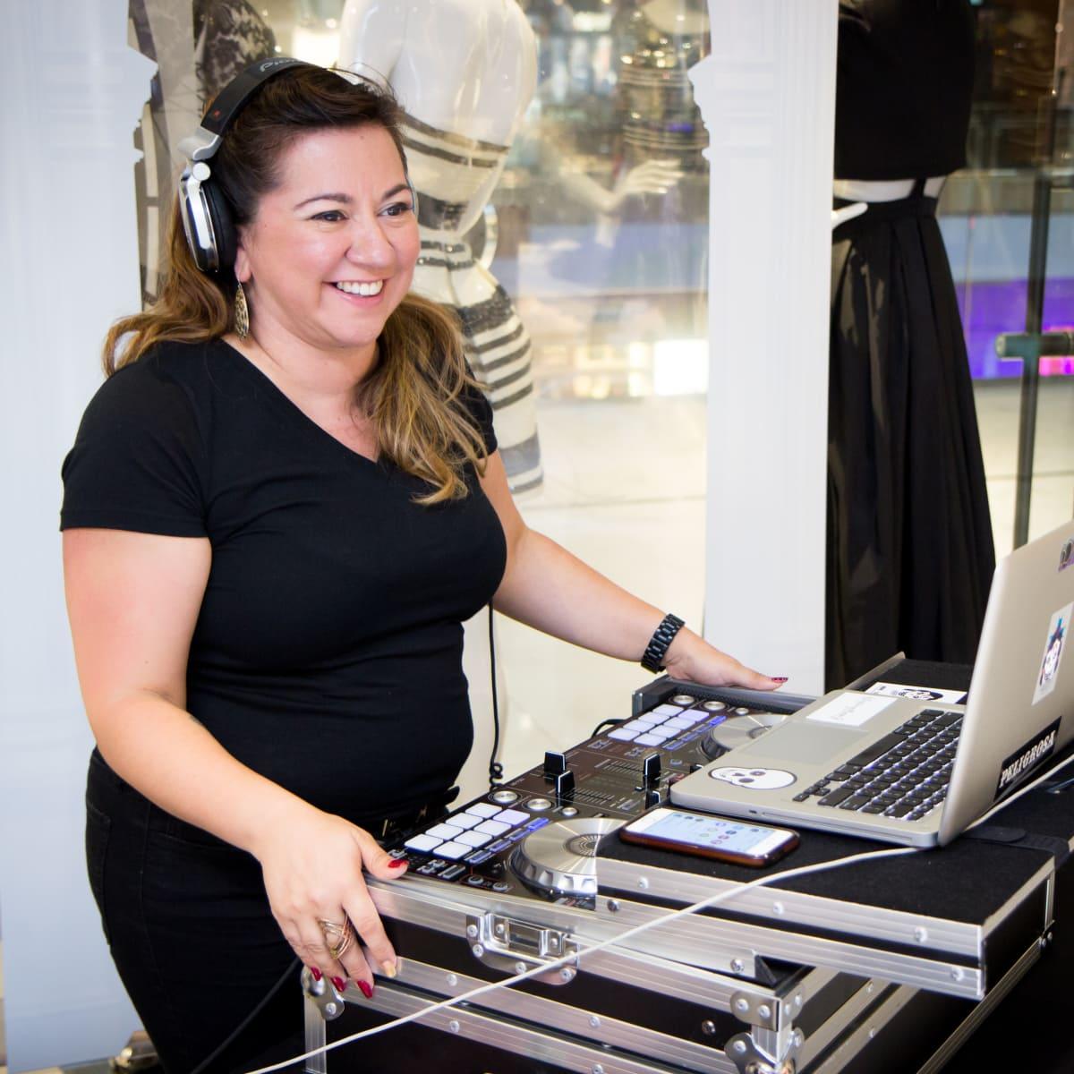 News, Shelby, Bebe party, Sept. 2015 DJ Gracie Chavez