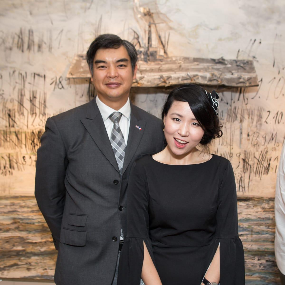 News, Shelby, Fine Art Fair Kick-off, Sept. 2015,Sujiro Seam, Muyi-Jane Ren