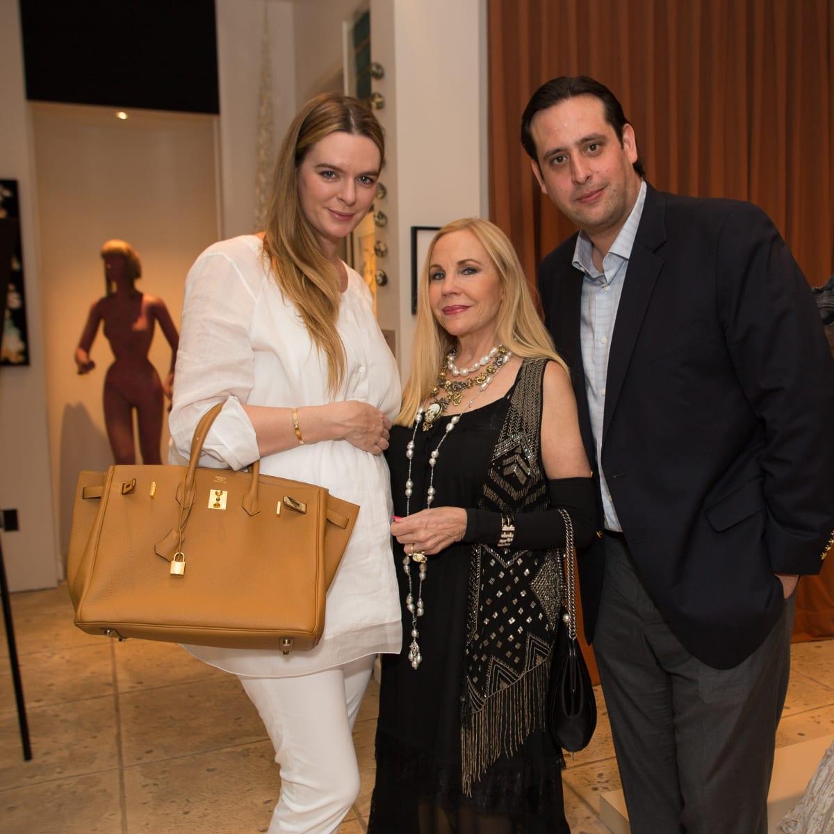 News, Shelby, Fine Art Fair Kick-off, Sept. 2015, Eloise Bauer, Carolyn Farb, Luis Bauer