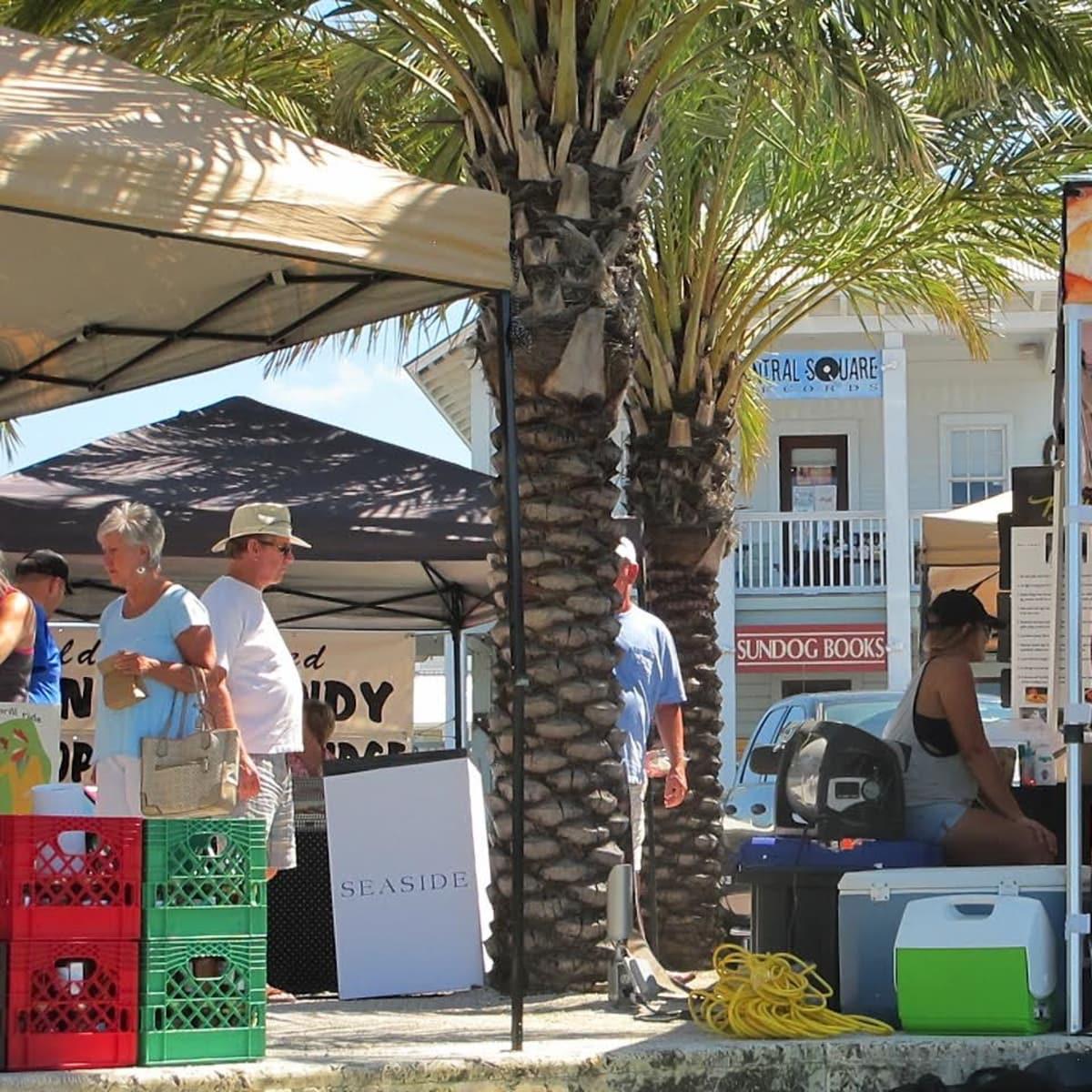 Seaside Florida farmers market