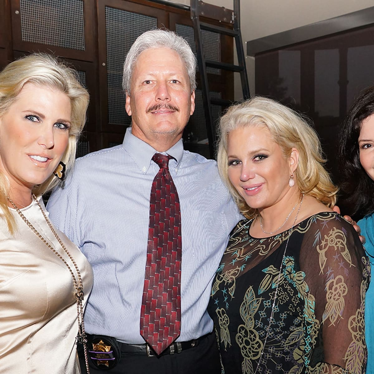 Houston, Unleashed K9's for Cops Kickoff Party, August 2015, Courtney Hopson, Ron Hickman, Kristi Schiller, Leigh Williams.