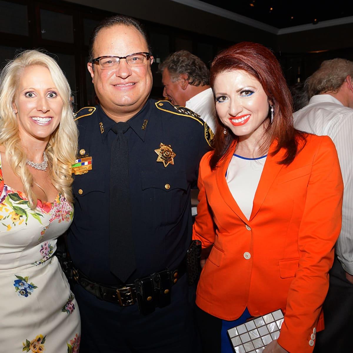 Houston, Unleashed K9's for Cops Kickoff Party, August 2015, Laurie Krohn, Alan Rosen, Yasmine Haddad