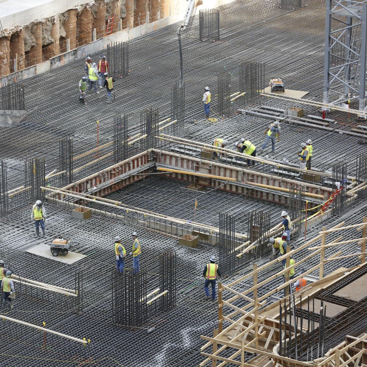 Foundation pour at Skanska Capitol Tower