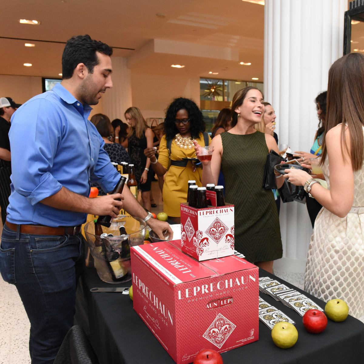 News, Shelby, Women of Wardrobe Back to School, Aug. 2015, Jake Schiffer of Leprechaun Cider