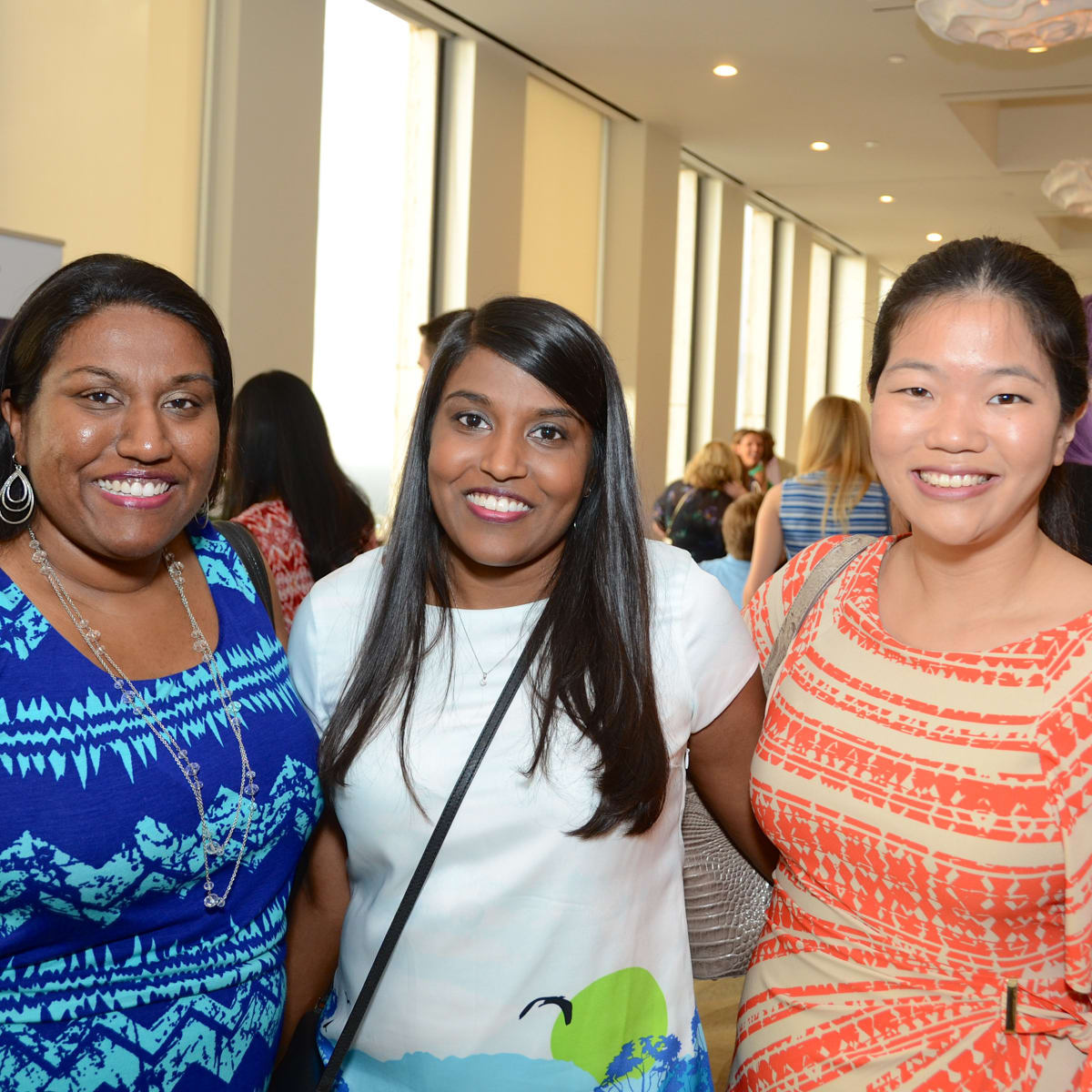 YP Zoo Aug 2015 Anita Udayamurthy, Michelle Udayamurthy, Ashley Nguyen