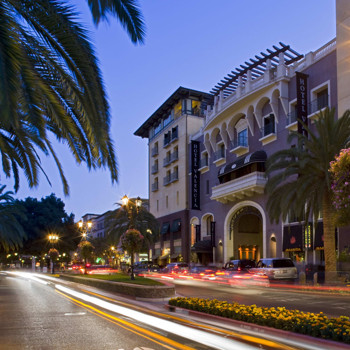 Hotel Valencia at Santana Row in San Jose California