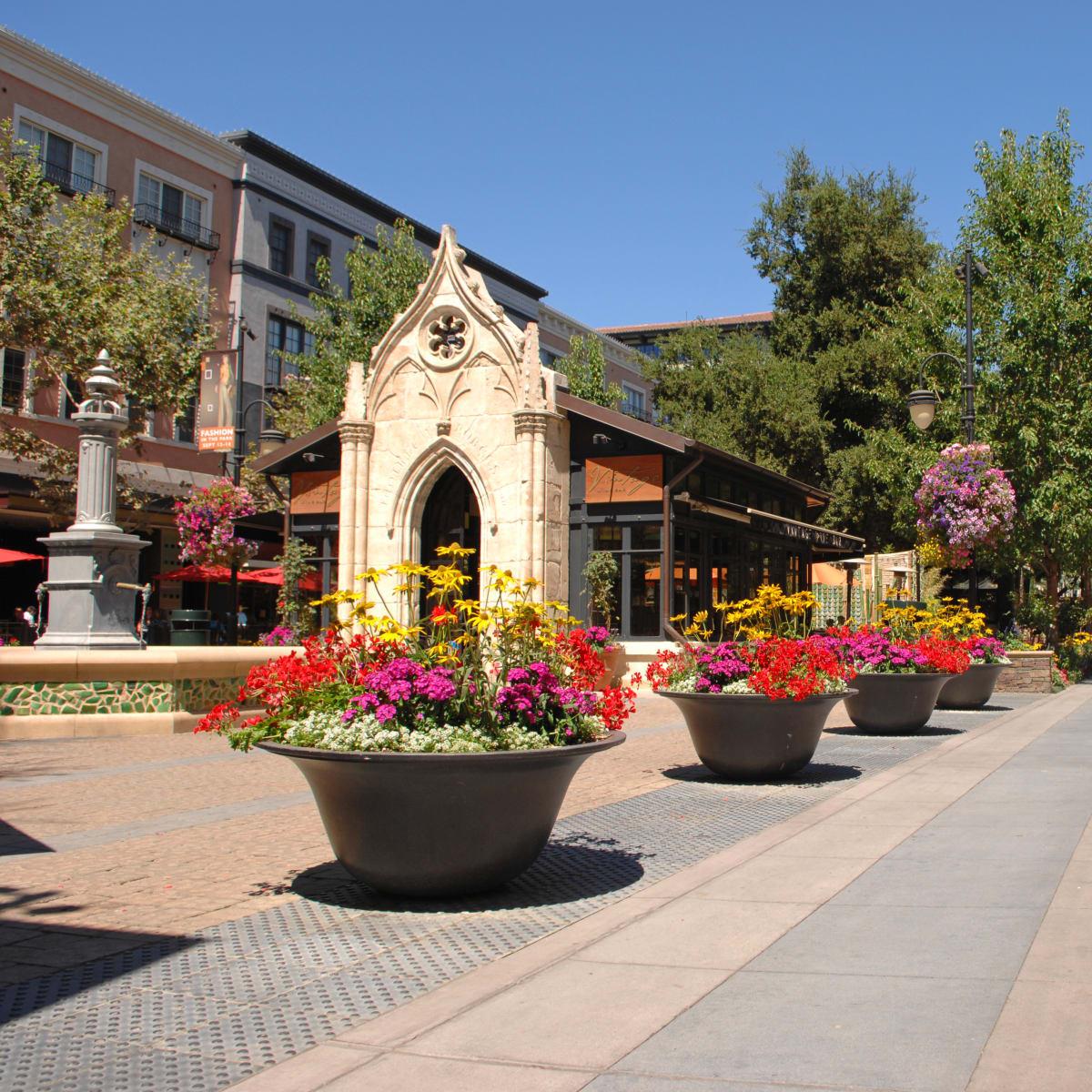 Santana Row San Jose California daytime