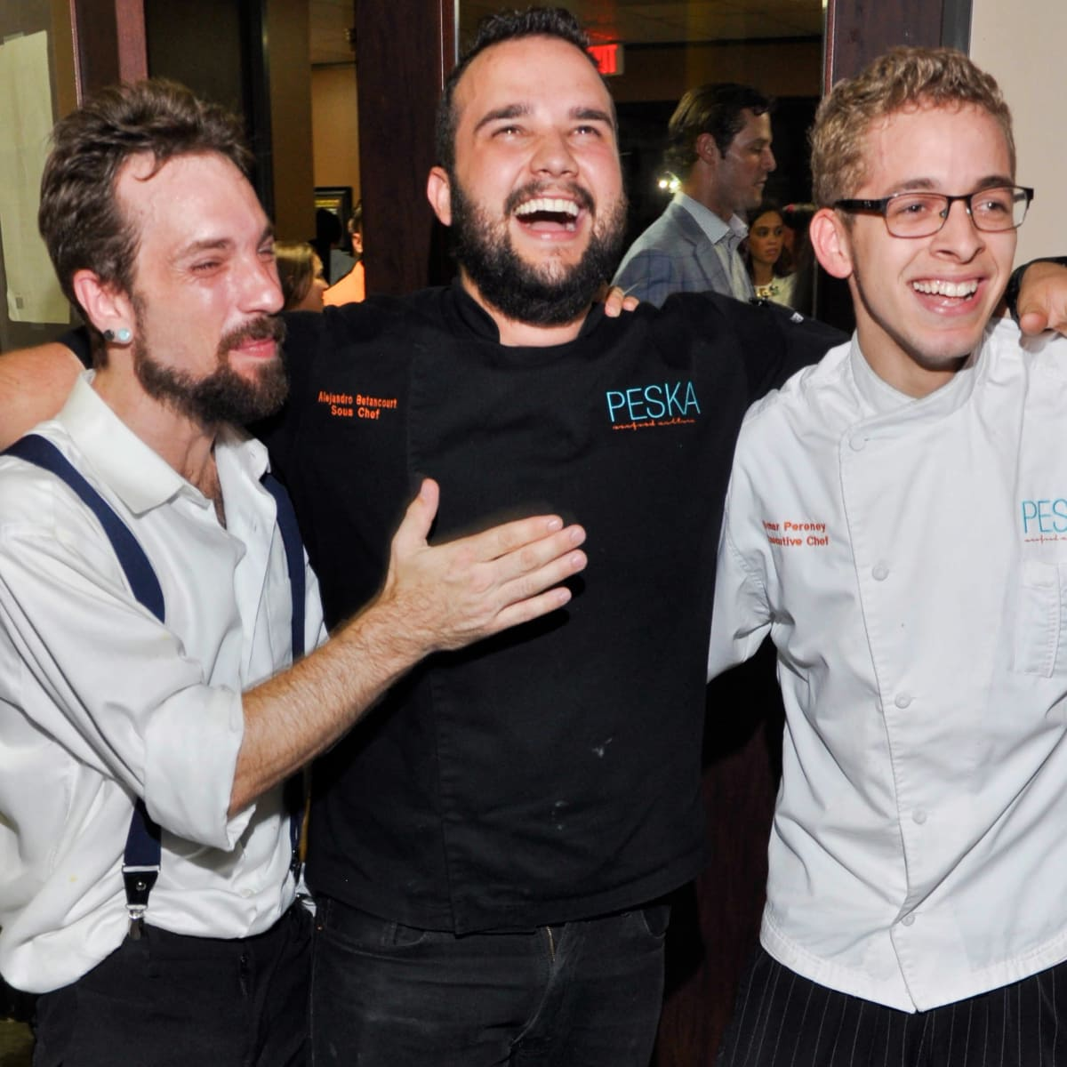 Houston, Spiked by the Scoop, July 2015, Dennis Hitson, Alejandro Betancourt and Omar Pereney