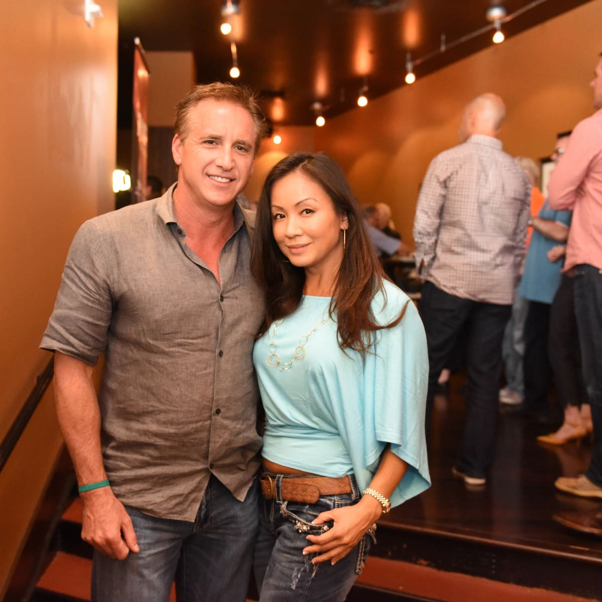 Houston, George Springer All-Star Bowling Benefit, July 2015, Rob Todd, Dinah Lin