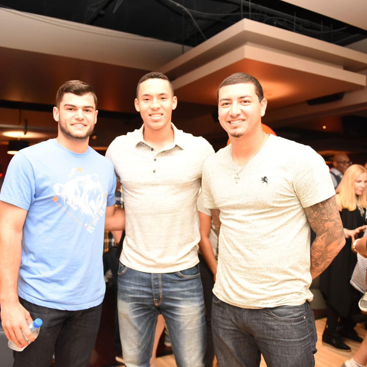 Houston, George Springer All-Star Bowling Benefit, July 2015, Lance McCullers, Carlos Correa, Vincent Velasquez