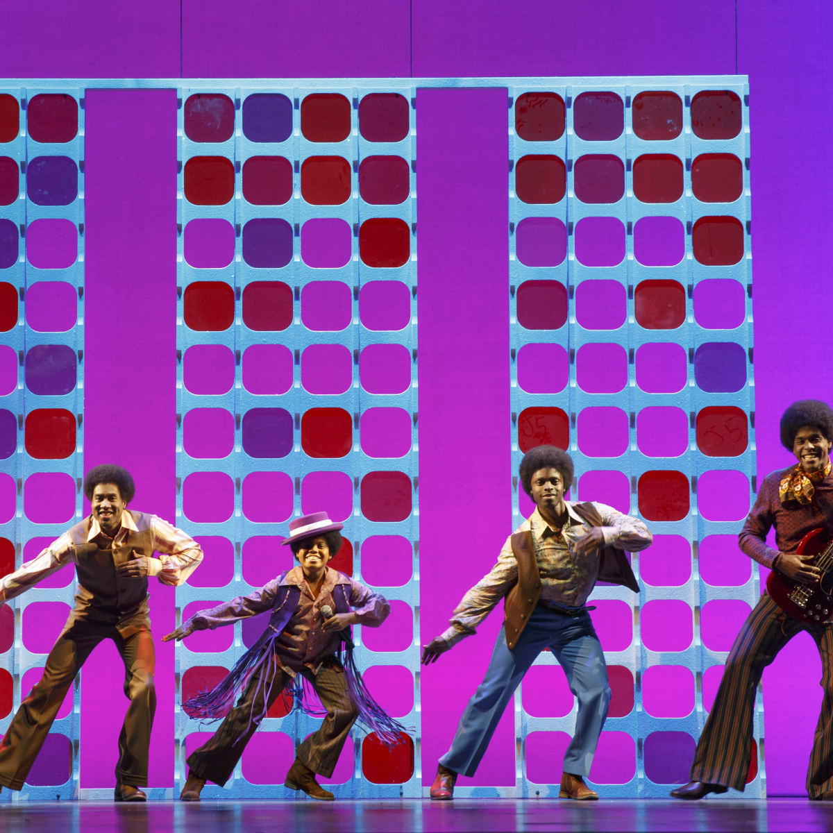 The Jackson 5 in Motown the Musical