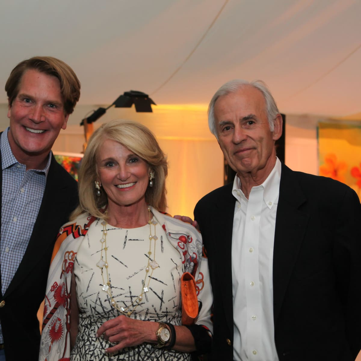 News, Shelby, M.D.Anderson in Aspen, July 2015, George Lancaster, Denise Monteleone, Jim Martin