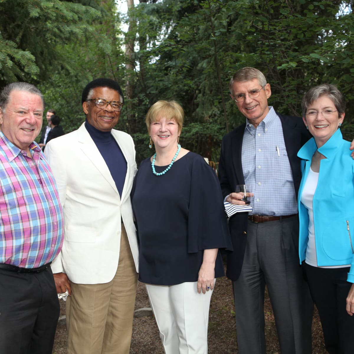 News, Shelby, M.D.Anderson in Aspen, July 2015, David Kudish, Rufus Cormier, Leslie Blanton, Jeff and Ann Dykes