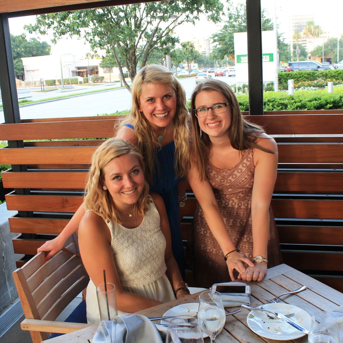News, Shelby, Omar Pereny's 21st birthday, July 2015, Natalie Harms, Emily Wilkinson and Cara Smith