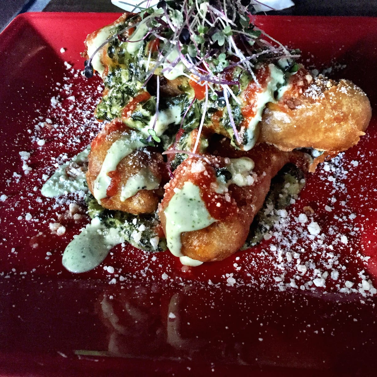 Lincoln Bar fried tamales