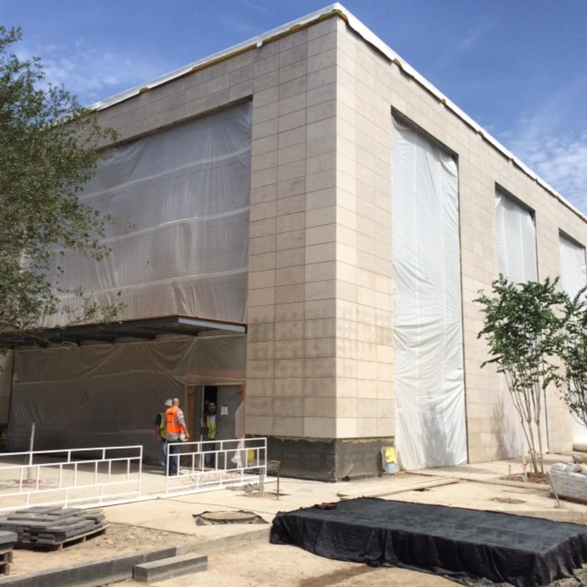 Dior building under construction at River Oaks District