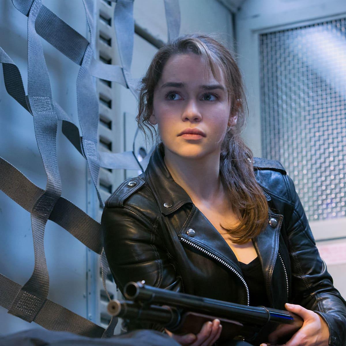 Emilia Clarke in Terminator Genisys