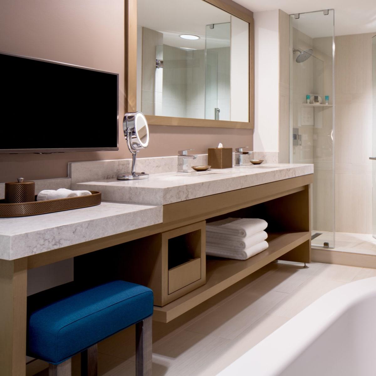 Hyatt Regency two story suites master bath 2