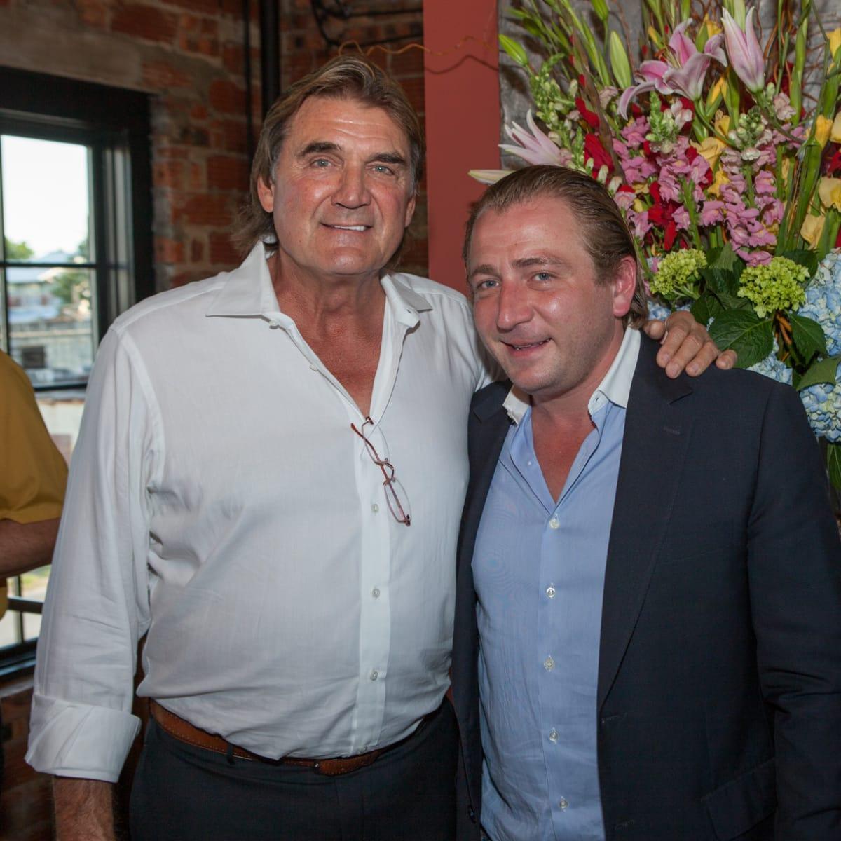 Houston, Pastorini party, June 2015, Dan Pastorini, Ben Berg