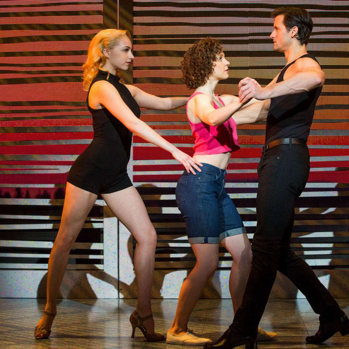 Jenny Winton, Gillian Abbott and Samuel Pergande in Dirty Dancing
