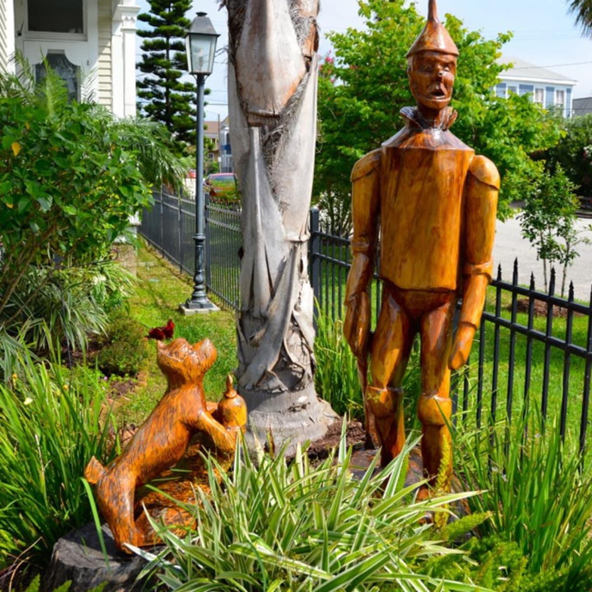 Galveston tree sculpture
