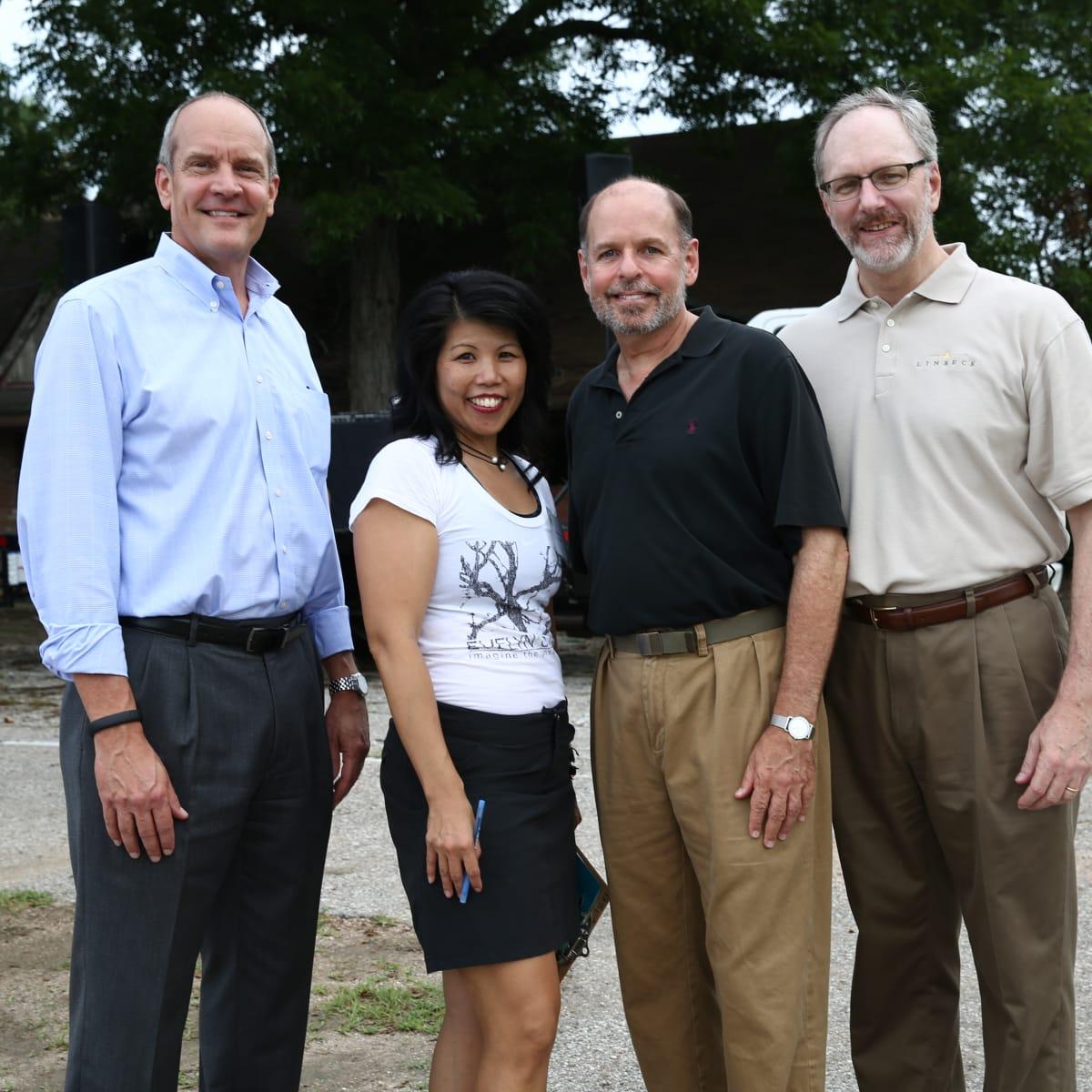 News, Shelby, Evelyn's Park groundbreaking, June 2015, David Stueckler, Patricia Ritter King, John Gabriel,Tom Butler
