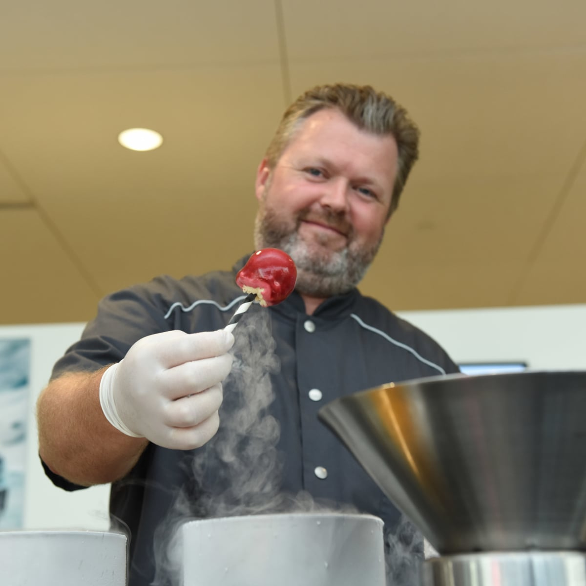 News, Shelby, BMW West grand opening, June 2015, Chef Eric Nelson