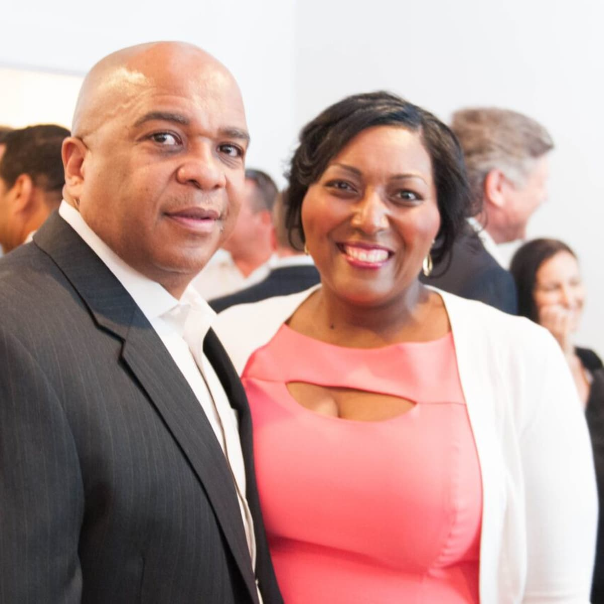 Houston, Engel and Völkers Launch Party, June 2015, Pierre Chatman Sr., Chantera Chatman