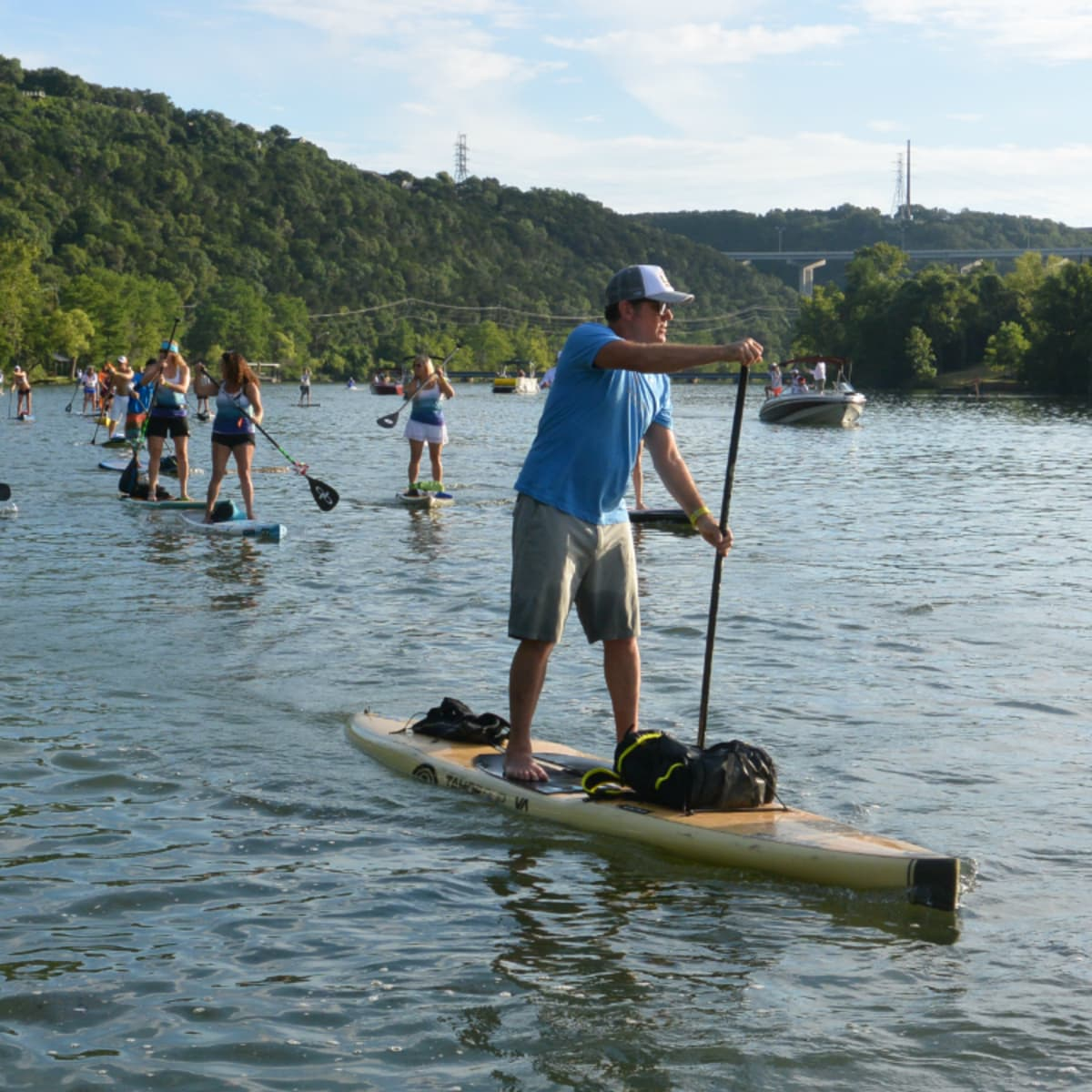 Tyler's Dam That Cancer_Flatwater Foundation_stand up paddle boarding_Lake Austin_JB Hager_2015