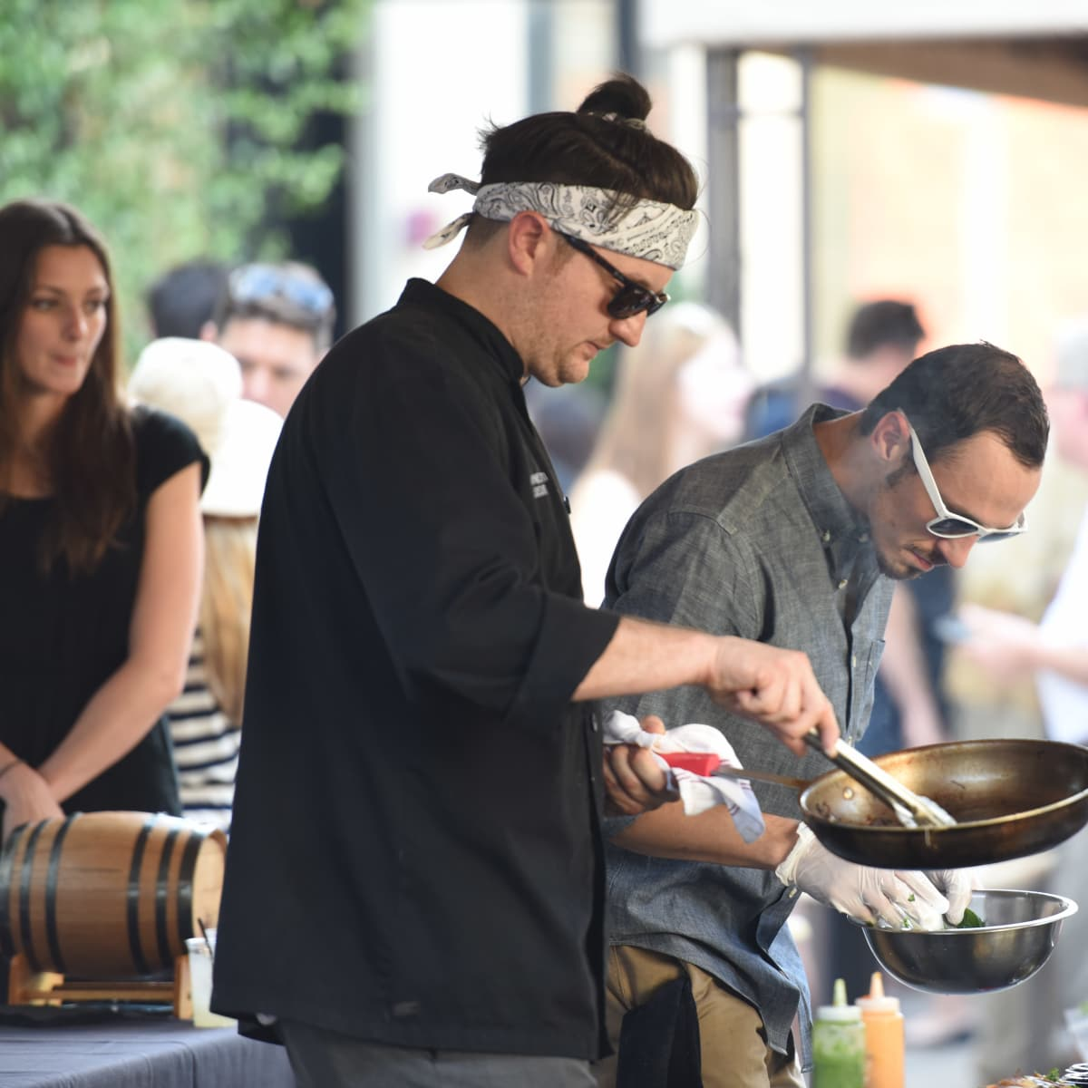 News, Shelby, Curry Crawl, June 2015, Chef Michael Sanguinetti