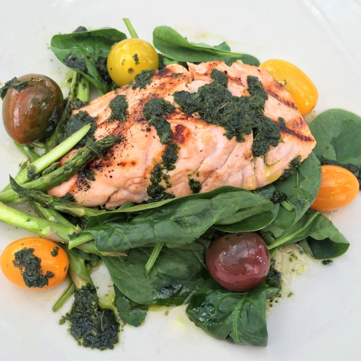 Mudhen Meat and Greens summer salmon