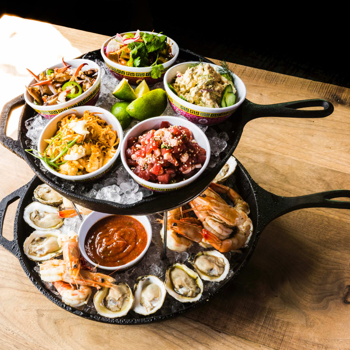Underbelly seafood tower