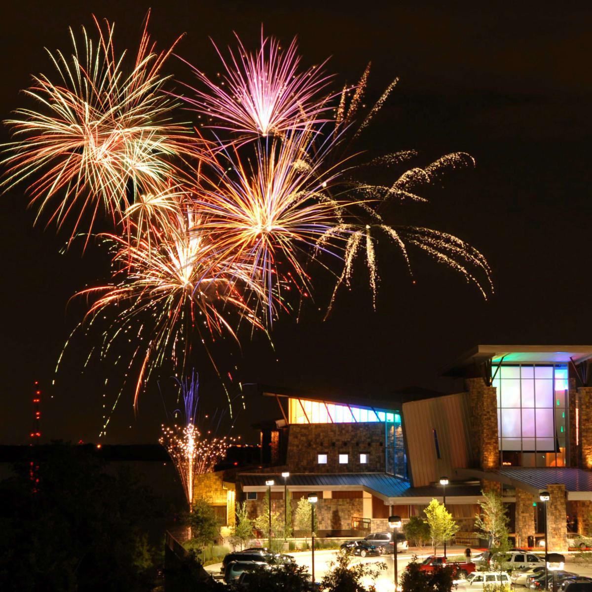 Fireworks at Gaylord Texan Resort
