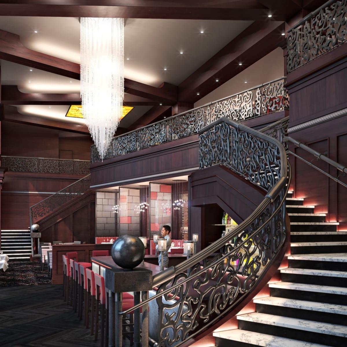 Del Frisco's Double Eagle Steakhouse remodeling rendering