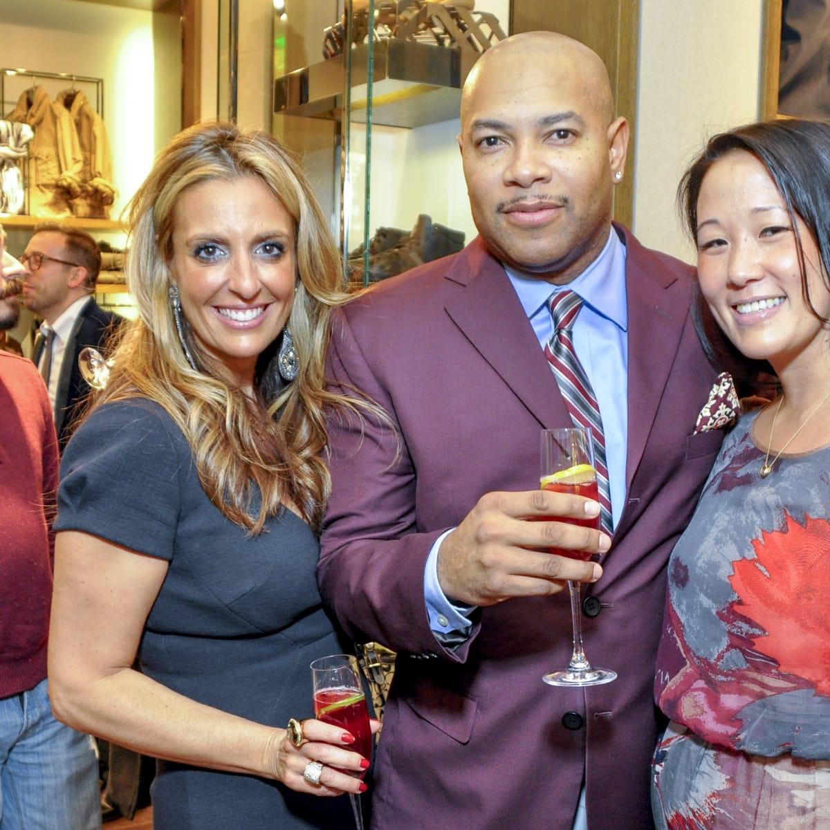 07, Andre Johnson/Burberry, December 2012, Bari Medgaus, Reggie Saunders, Deb Lee
