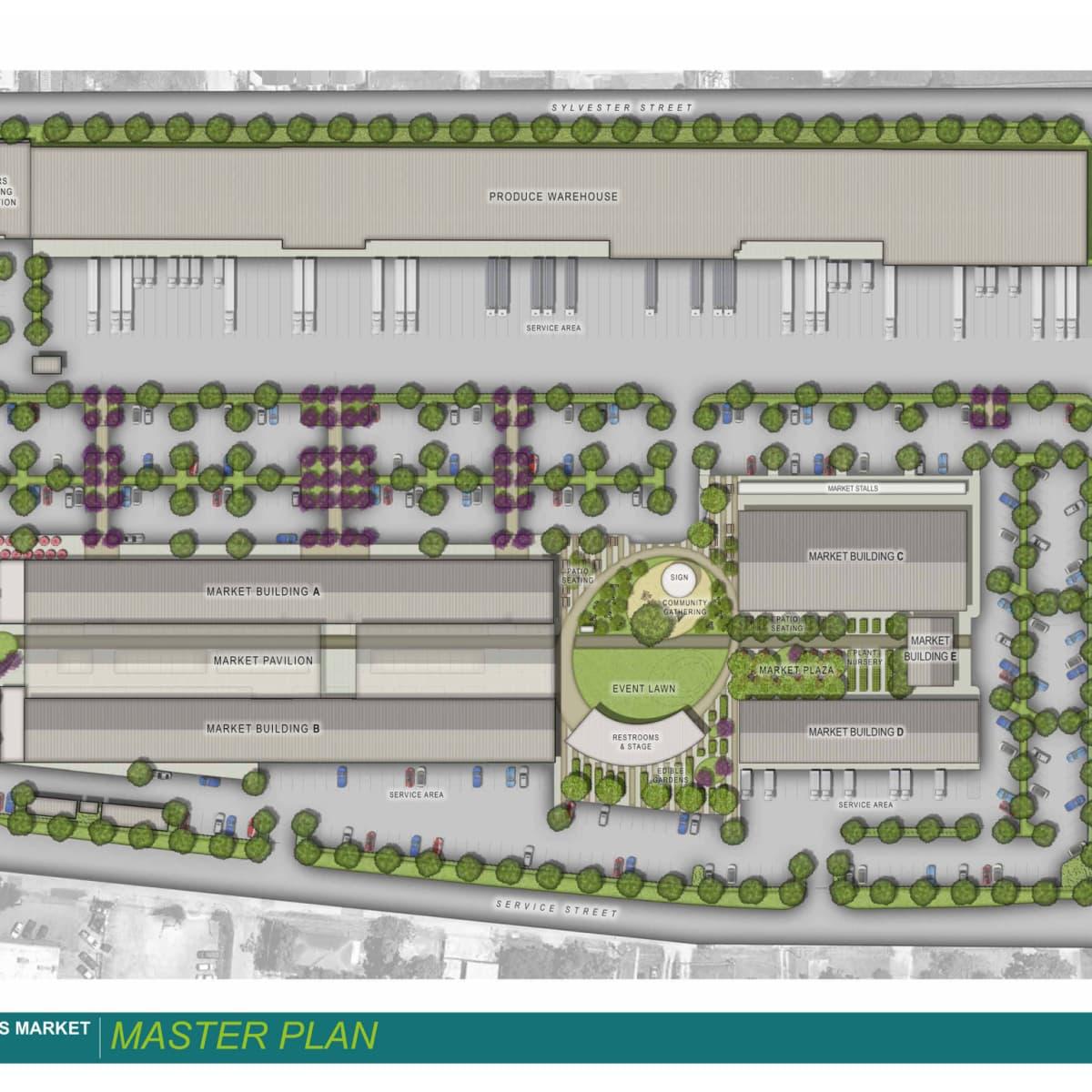 Houston Farmers Market site plan