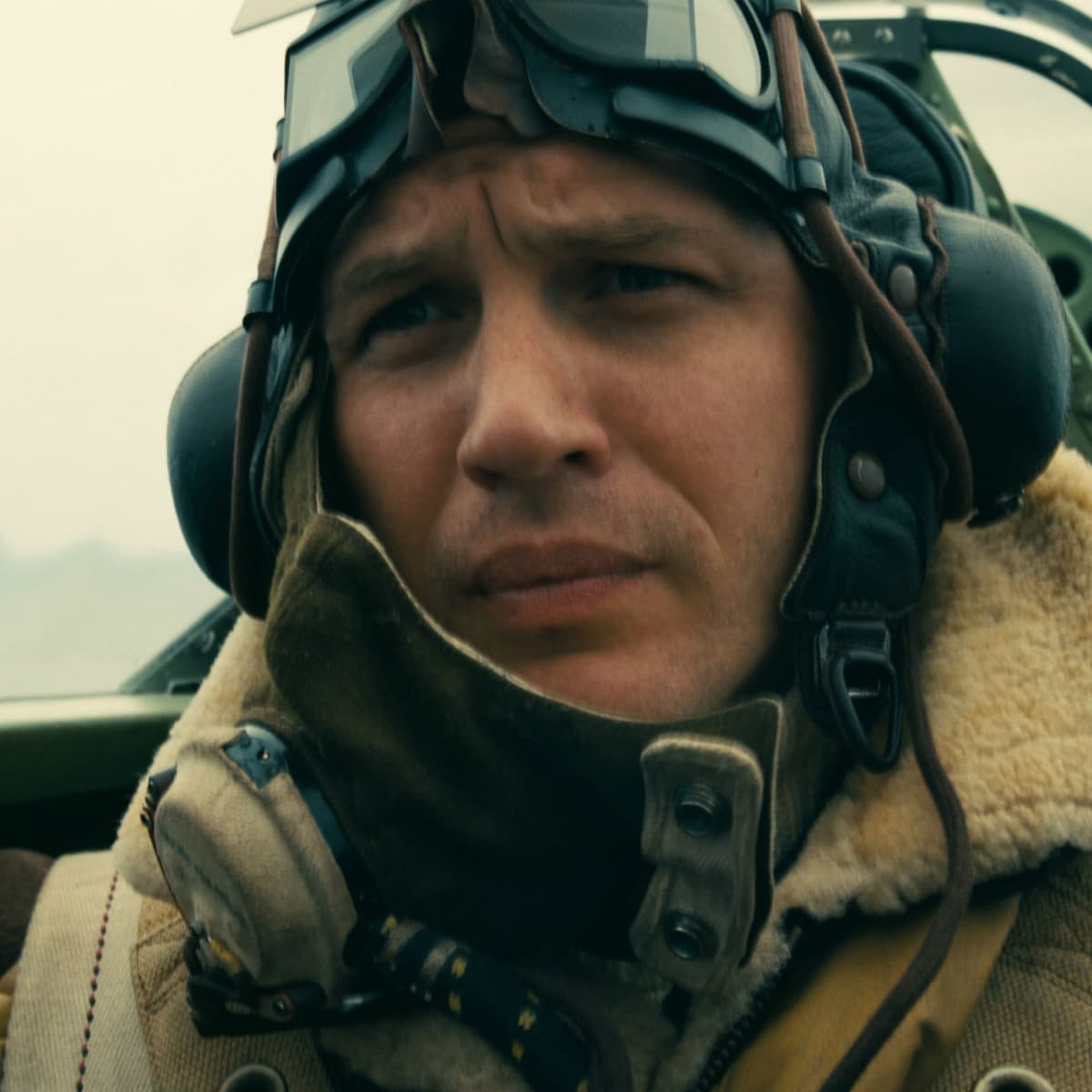 Tom Hardy in Dunkirk