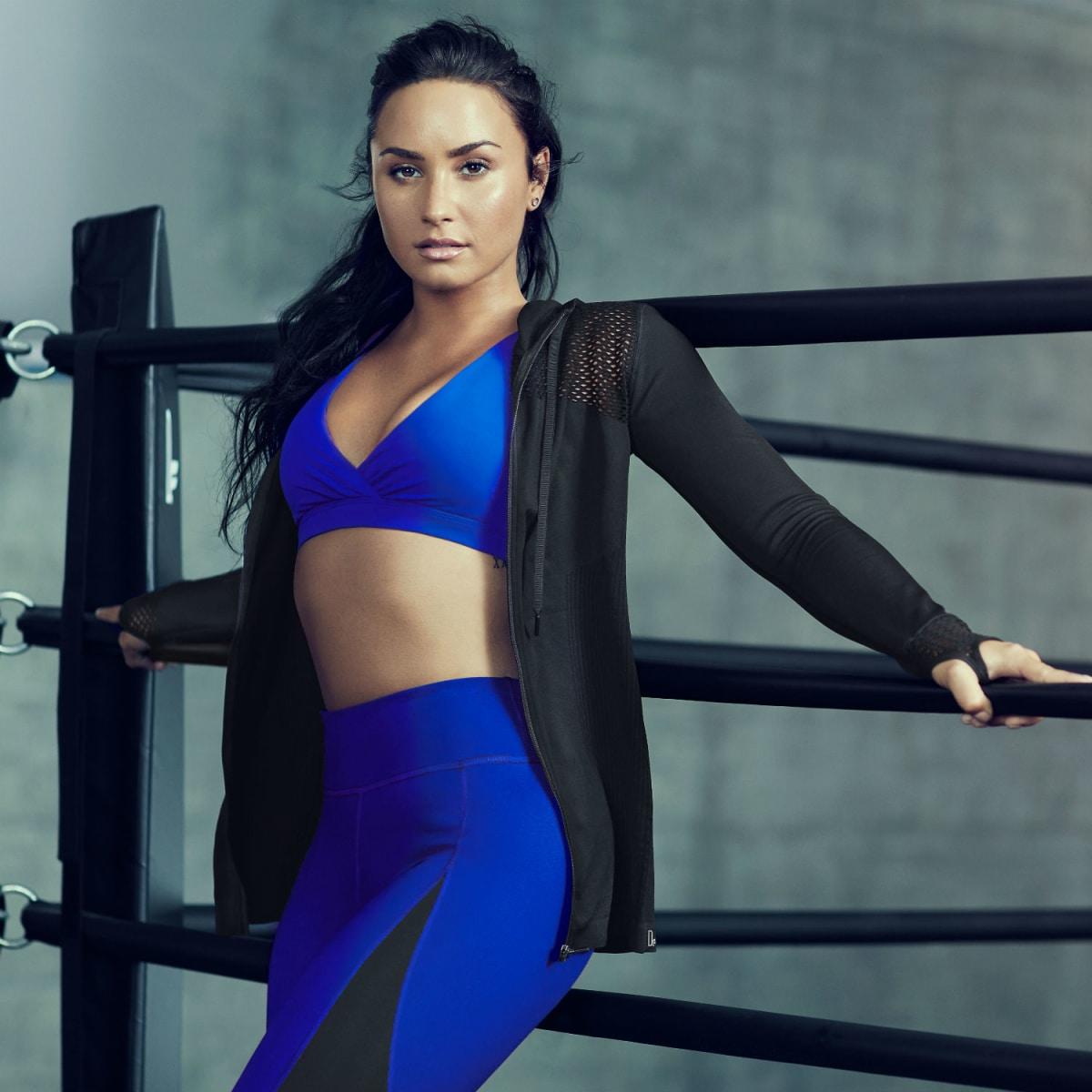 Demi Lovato for Fabletics