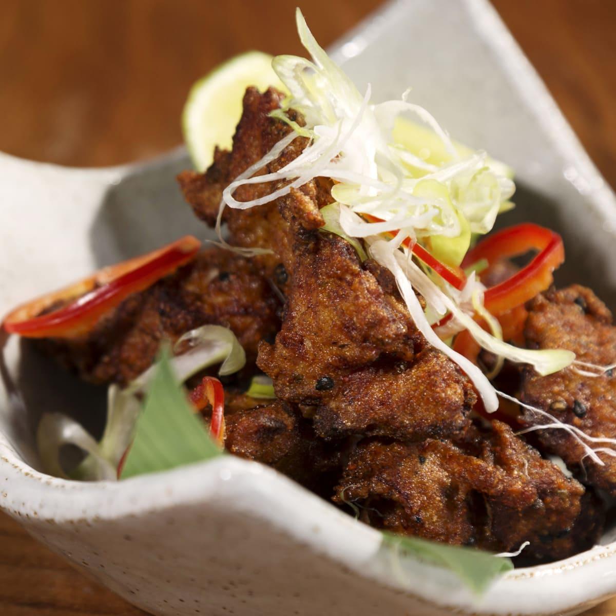 Houston, Roka Akur, Fried chicken aioli