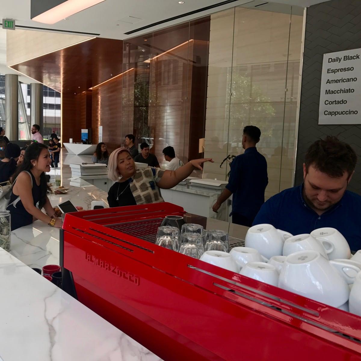 Prelude Coffee counter