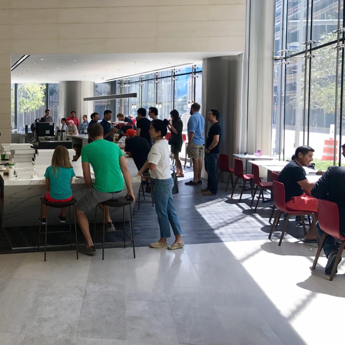 Prelude Coffee interior